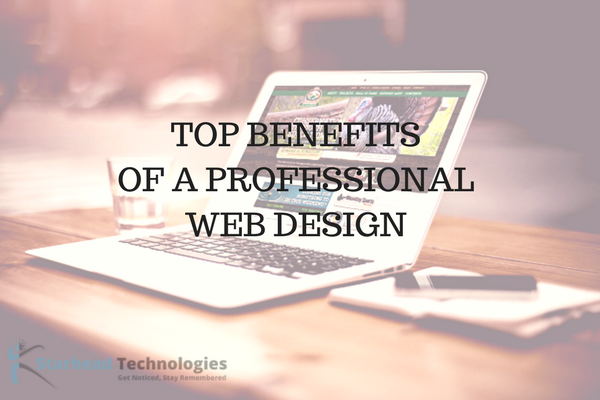 4 Top Benefits Of Professional Web Design